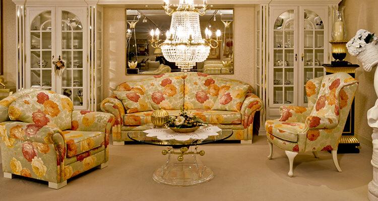 Шторы, мебель, люстры как основные принципы создания комфорта